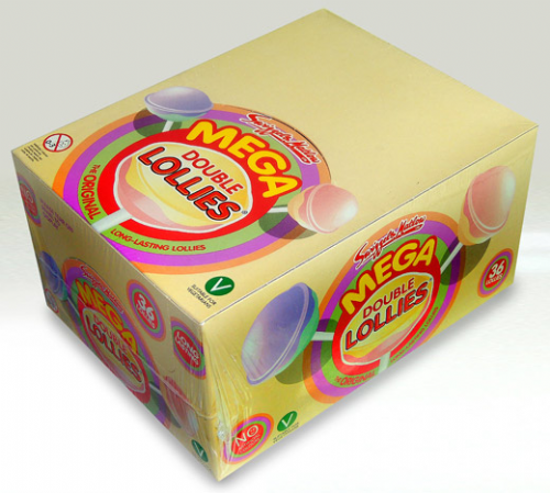 SW29  SWIZZELS MEGA DOUBLE LOLLIES 36